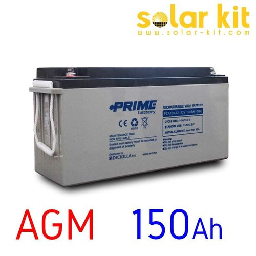 150 Ah AGM Battery 12 Volts