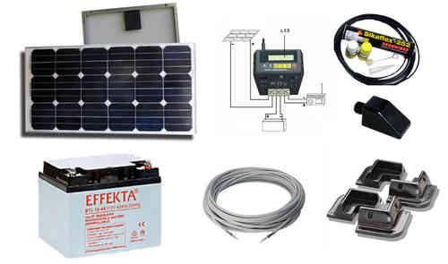 kit solaire pour camping car 12 volts 750wh jour gb. Black Bedroom Furniture Sets. Home Design Ideas