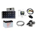 kit solaire pour camping car 12 volts 750wh jour sans batterie. Black Bedroom Furniture Sets. Home Design Ideas