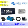Solar kit 130Wc - AC 230V/650W