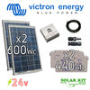 Solar kit Victron stand alone 24V 600Wp + batteries 440Ah