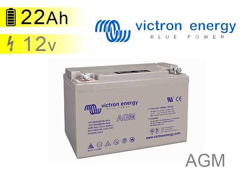 AGM Battery 22Ah 12V Victron energy