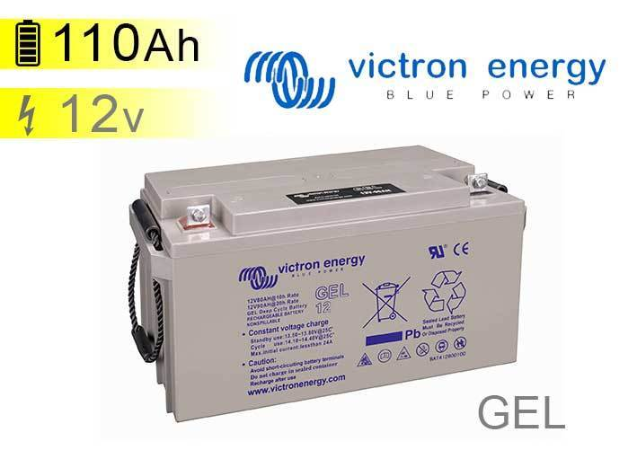 gel battery 110ah 12v victron energy. Black Bedroom Furniture Sets. Home Design Ideas