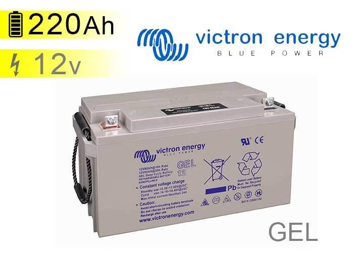 batterie solaire victron energy gel 12v 220ah. Black Bedroom Furniture Sets. Home Design Ideas