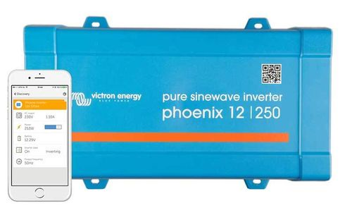 Convertisseur onde pure 12V-230V 250VA Phoenix VE.direct Victron Energy