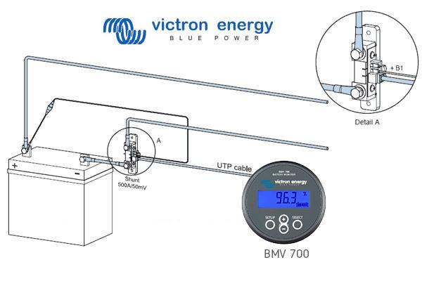 contr leur de batteries bmv 700 victron energy. Black Bedroom Furniture Sets. Home Design Ideas