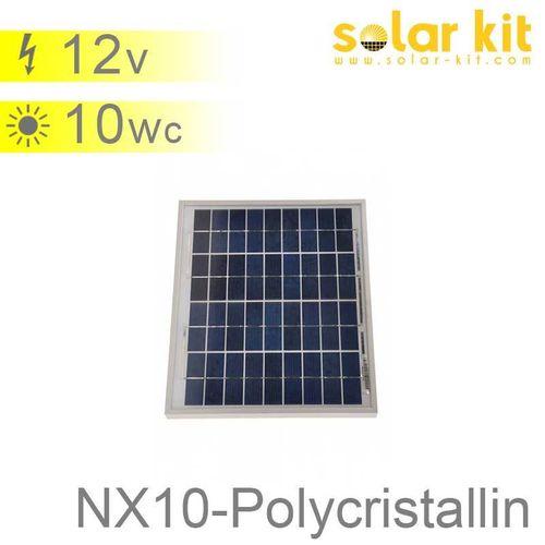 Panneau solaire 10Wc 12V polycristallin NX
