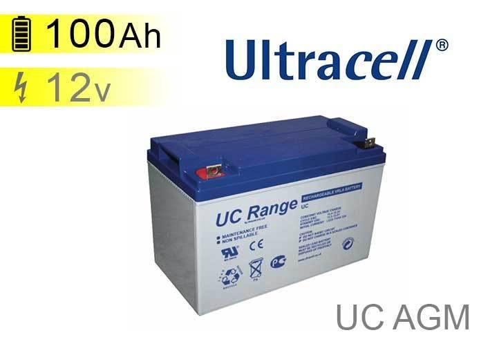 batterie solaire ultracell uc agm 12v 100ah. Black Bedroom Furniture Sets. Home Design Ideas