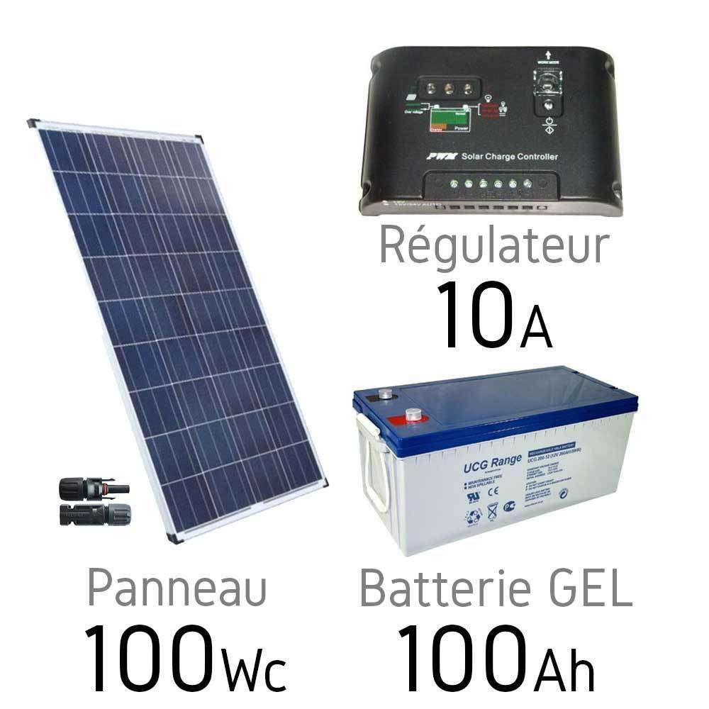 batterie solaire 100ah