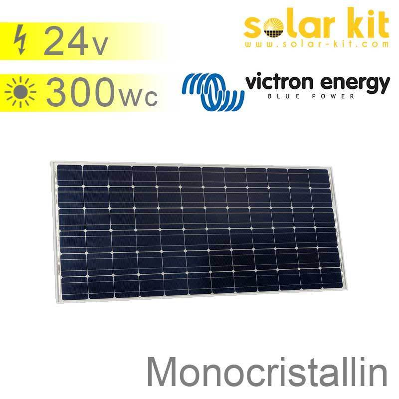 panneau solaire 300wc 24v monocristallin victron bluesolar. Black Bedroom Furniture Sets. Home Design Ideas
