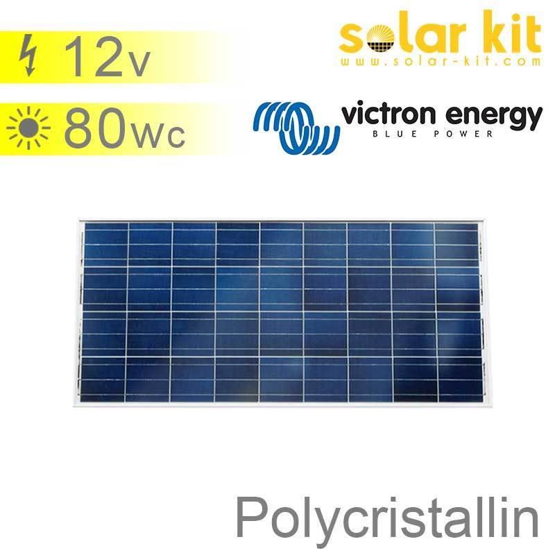 panneau solaire 80wc 12v polycristallin victron bluesolar pt. Black Bedroom Furniture Sets. Home Design Ideas
