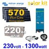 Solar kit self consumption Eaysolar Victron 570Wp