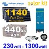 Solar kit self consumption easysolar Victron 1140Wp
