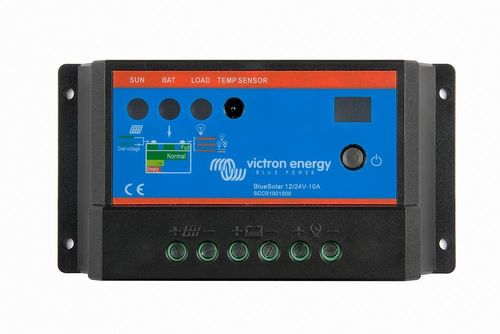 Régulateur de charge 10A 12-24V Blue Solar Victron Energy de