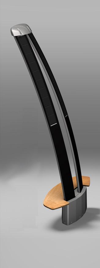 lampadaire solaire design autonome velaluz. Black Bedroom Furniture Sets. Home Design Ideas
