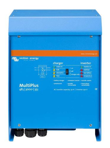 Convertisseur chargeur 3000VA 48V 35-50A Multiplus Victron Energy GB