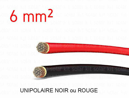 Solar Electrical cable 6 mm²