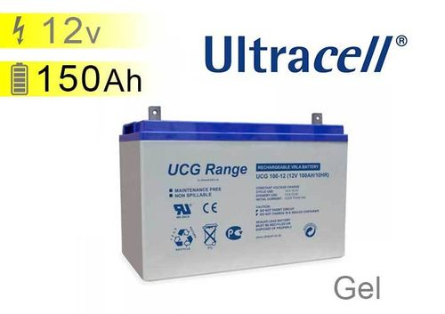 Batterie solaire GEL 12v 150Ah Ultracell UC