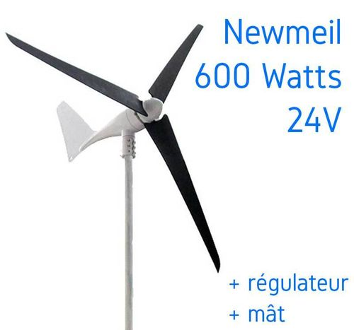 Eolienne 24v 600W NEWMEIL X-600