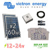 Solar kit Victron 12-24v 160Wc + batteries 330Ah