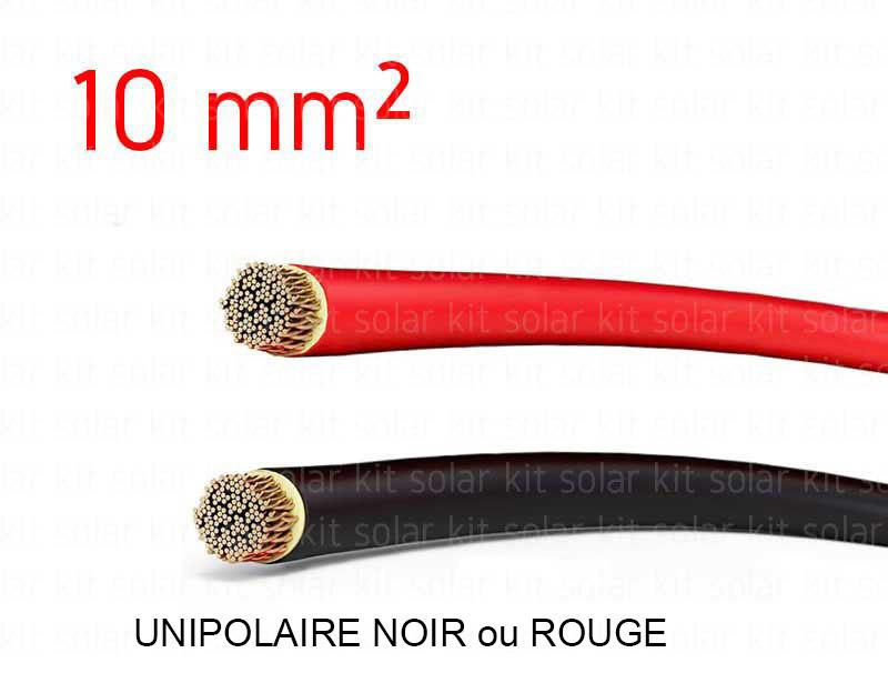 C ble lectrique 10mm vendu au m tre solar kit for Diametre exterieur cable electrique
