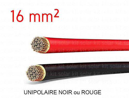 Electrical cable 16 mm²