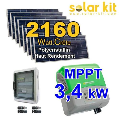 Solar kit self consumption 2160Wc KA