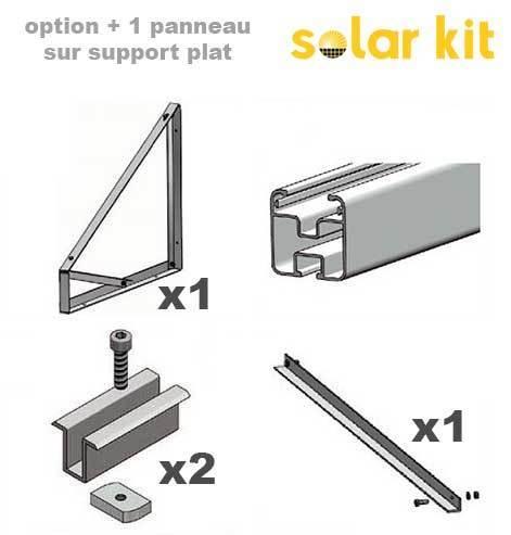 fixations pour panneaux solaires. Black Bedroom Furniture Sets. Home Design Ideas