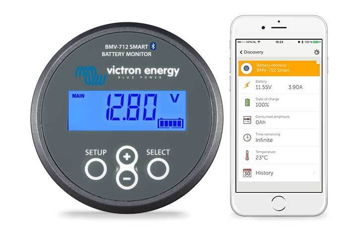 Victron Energy Battery Monitor BMV-712 Smart BAM030712000R