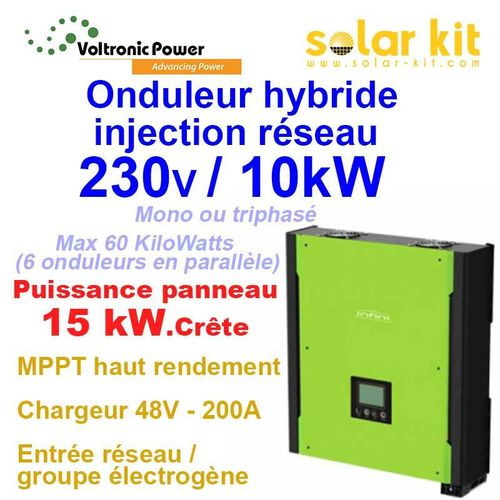INVERTER 12v 24v 48v DC to 230v AC- SOLAR KIT