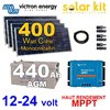 Solar kit MPPT Victron 12v-24v 400Wc + batteries 440Ah