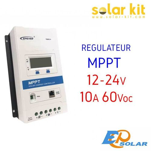MPPT charge controler 10A 12-24V TRIRON EPSOLAR