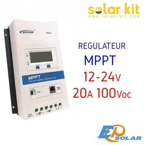 MPPT charge controler 20A 12-24V TRIRON EPSOLAR
