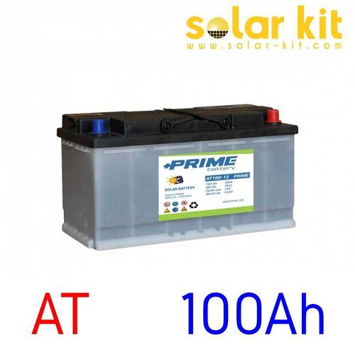 Solar battery AT Prime 12V 100Ah