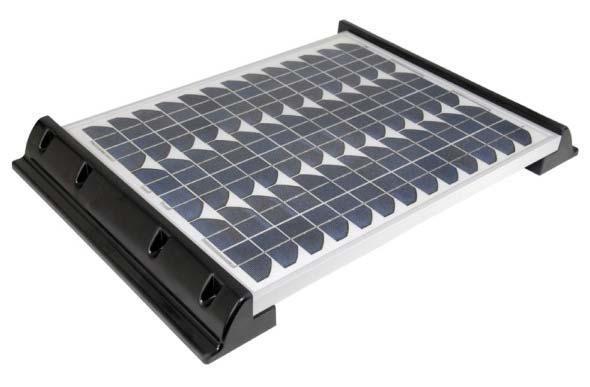 2 fixations 680mm pour panneau solaire sur camping car et bateau. Black Bedroom Furniture Sets. Home Design Ideas
